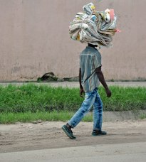 The best way to carry anything is on top of your head. By Rutendo Nyamuda